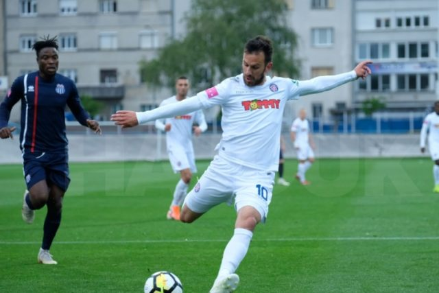 Hajduk slavio protiv Rudeša